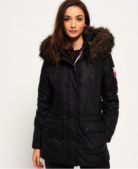 Women's Clothing Womens Superdry Canadian Down Ski Parka