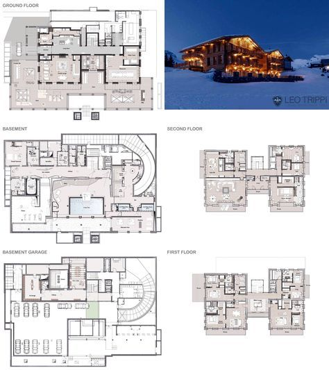 Catered Ski Chalet Lech Chalet N Leo Trippi From Leo Trippi Europe S Leaders In Luxury Travel Luxury House Plans Mansion Floor Plan French Style Homes