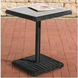 Polyrattan Tische Ladenzeile De In 2020 With Images Round Outdoor Dining Table Rattan Dining Table Bistro Table
