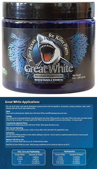 Other Plant Care And Accessories 25876 Plant Success Great White 8 Oz Ounce Mycorrhizae Beneficial Bacteria Root Grow Beneficial Bacteria Plants Plant Care