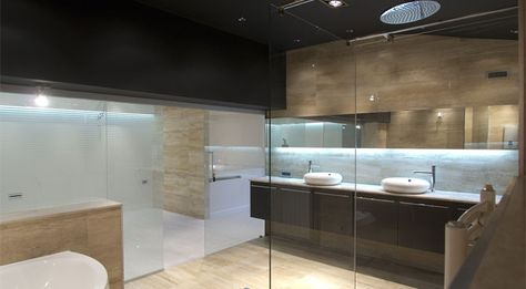 BATHROOM GLASS SPLASHBACKS -Old bathroom tiles are falling of the - k che arbeitsplatte glas