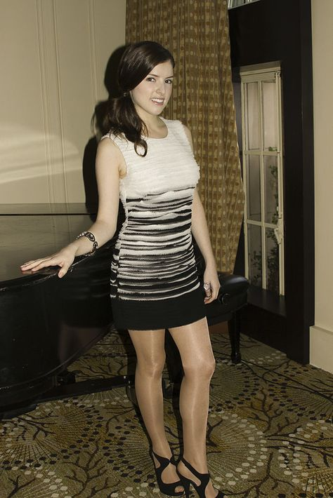 Anna Kendrick poses for a photo during a portrait session at the Beverly Wilshire Hotel