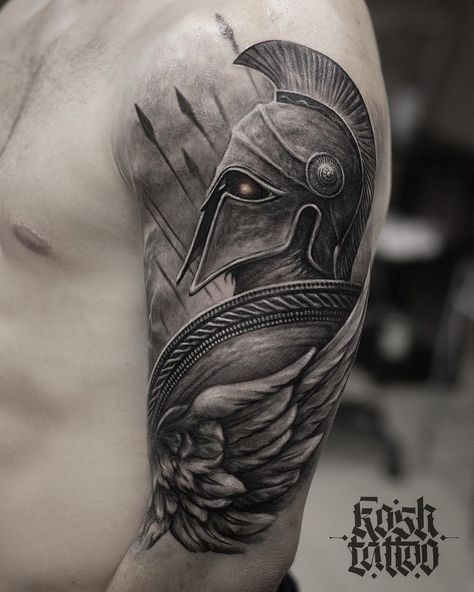101 Amazing Spartan Tattoo Designs You Need To See! - 101 Amazing Spartan Tattoo Designs You Need To See! Tattoos 3d, Best Sleeve Tattoos, Tattoo Sleeve Designs, Tattoo Designs Men, Hand Tattoos, Tattoo Ink, Tattoo Drawings, Best Tattoos For Men, Tatoos Men