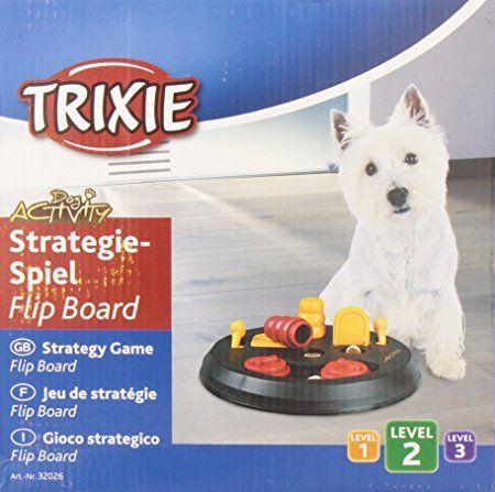 Trixie Dog Activity Flip Board Strategiespiel für Hunde, 23