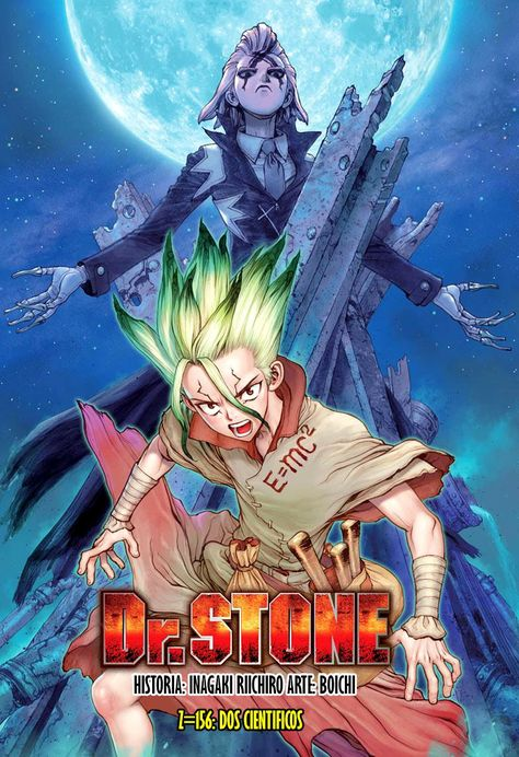Dr Stone Capítulo 156 00 Solitario No Fansub Followmanga Manga Covers Anime Shows Anime Wall Art
