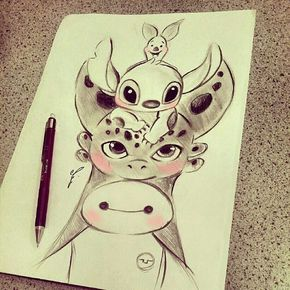 """""""Aww! Which one is your favorite?  Work by the talented @Diana1992d ! -  Remember to #artofdrawingg!"""""""
