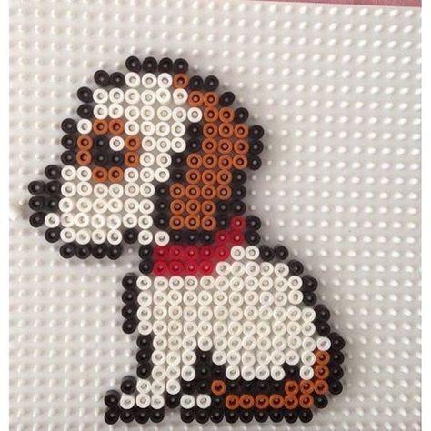 Puppy dog perro template, diseño, molde, plantilla, abalorios - deko für küche