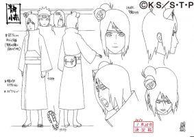 Konan Akatsuki By Pablolpark Naruto Sketch Konan Anime Character Design