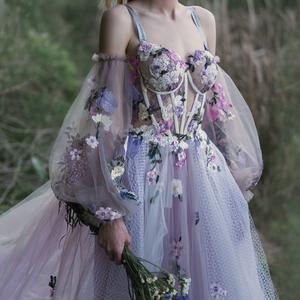 Multi-way wedding dress ROSALLY with long train by Ange | Etsy Elegant Dresses, Pretty Dresses, Vintage Dresses, Beautiful Dresses, Vintage Ball Gowns, Sweet 15 Dresses, Elegant Ball Gowns, Gorgeous Dress, Fairytale Dress