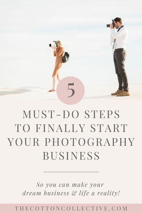 Thinking about starting a photography business? Here are 5 steps you need to take to start a photography business from scratch. Dream Photography, Photography Pricing, Food Photography Tips, Wedding Photography Tips, Photography Tips For Beginners, Photography Lessons, Photography Courses, Newborn Photography, Family Photography
