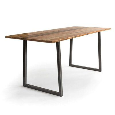 Foundry Select Doron Bar Height Solid Wood Dining Table In 2020