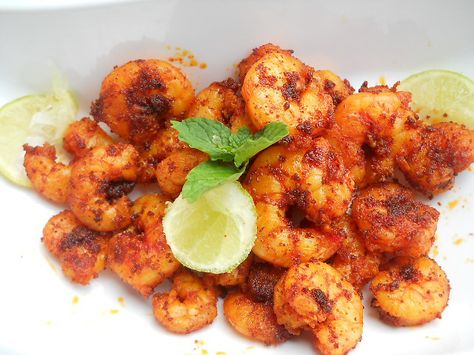 Goan Prawns Fry, how to make goan prawns fry