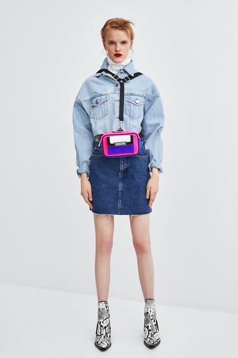 33f09e8a5 Image 1 of AUTHENTIC DENIM DAMAGED JACKET from Zara | Clothing ...