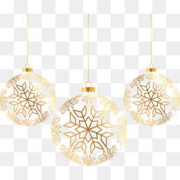 Golden Snowflakes Christmas Fantasy Free Material Vector Free Stock Png Three Vector Golden Vector Christma Christmas Vectors Flower Png Images Christmas Balls