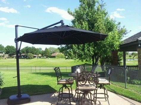 Cantilever Umbrella By Treasure Garden Outdoor Shade Backyard Patio