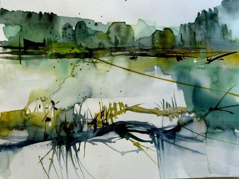 Heinz Buchele Wasserfarben Landschaften Aquarellbilder
