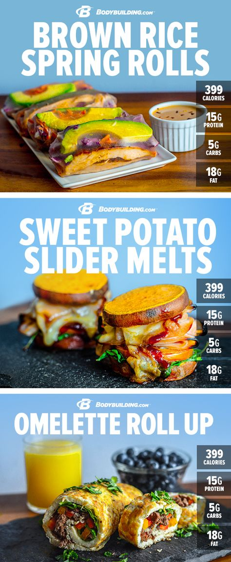 Ditch the bread and dive right into the good stuff with these 5 protein-packed, breadless sandwich #recipes. Bodybuilding.com