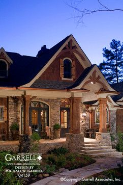 Exterior of Craftsman Style House Plans - Craftsman ... on