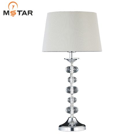 Hot Sale Modern Table Lamps For Hotel Bedside Crystal