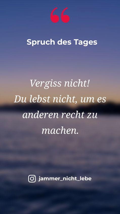 ❗️Jammer nicht, lebe! ❗️  Inspiration und Motivation für jeden Tag.  Mehr Informationen auf meiner Website www.jammer-nicht-lebe.de Persönlichkeitsentwicklung, Leben, Lebensfreude,Liebe  Lebe Deinen Traum!   #zitate #sprüche #Lebensweisheiten