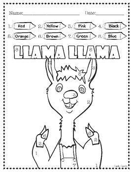Llama Llama Activities Llama Llama Red Pajama Kindergarten