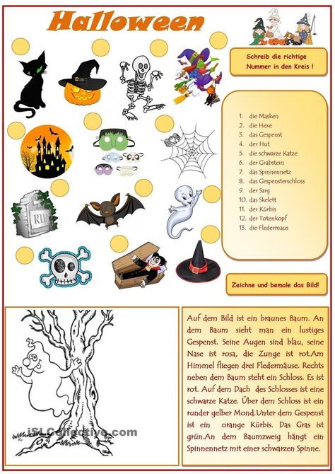 10 hexeideen  halloween kinder malvorlagen halloween