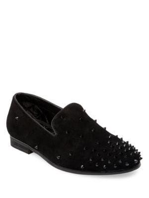 565c0ef6970 STEVE MADDEN Cascade Suede Smoking Slippers. #stevemadden #shoes ...