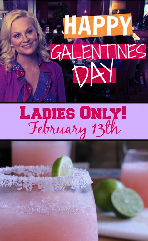 Don't forget #Galentines Day Ladies! It's YOUR day! Repin to spread the word :)