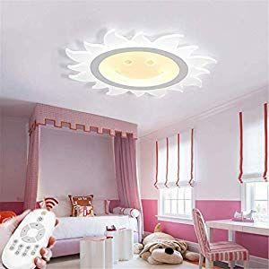 FHTD Deckenleuchte LED Ultradünne Kreative Sonne Deckenlampe ...