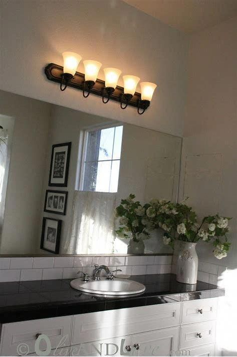 5 Decorative Ideas With A Glass Jar Best Bathroom Lighting Bathroom Light Fixtures Kitchen Bathroom Remodel