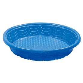 Summer Waves Wading Pool 45 In L X 45 In W Blue Plastic Round