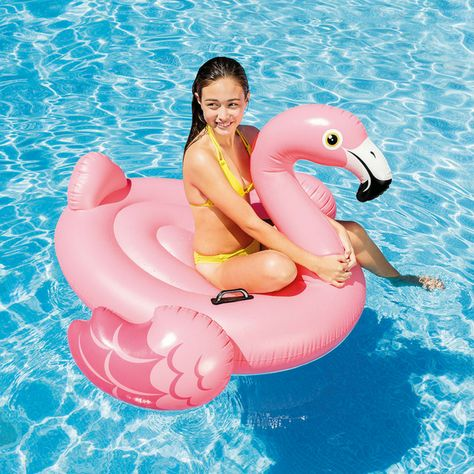 Flamingo STAJOY Flamingo Inflatable Swimming Pool Float 47 inches with Glitters/for Adults