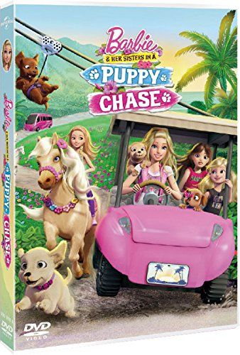 Barbie Y Sus Hermanas En Busca De Los Perritos Dvd Hermanas En Barbie Sus Barbie Y Sus Hermanas Cachorros Películas De Barbie
