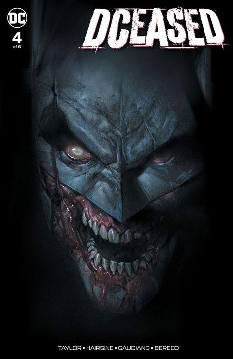 DCEASED 5 BEN OLIVER JETPACK COMICS//FORBIDDEN PLANET VARIANT Batman Catwoman