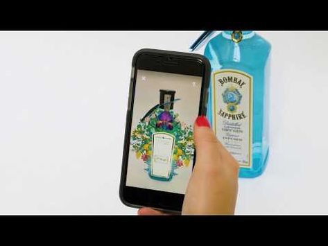Augmented Reality for Packaging - Shazam & Bombay Sapphire - YouTube