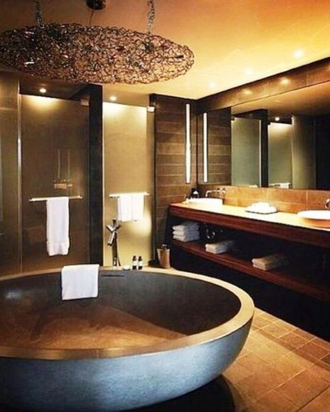 Upgrade Your House With Modern & Minimalist Bathroom Design Ideas That Will Impress Your Guest  #house #bathroom #floor #shower #light #bathroomlighting #bathroomflooring #interiordesignflooring #floor #bathroomideas