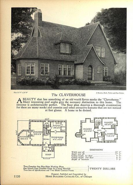 1928 Home Builders Catalog Cottage House Plans House Plans Best House Plans
