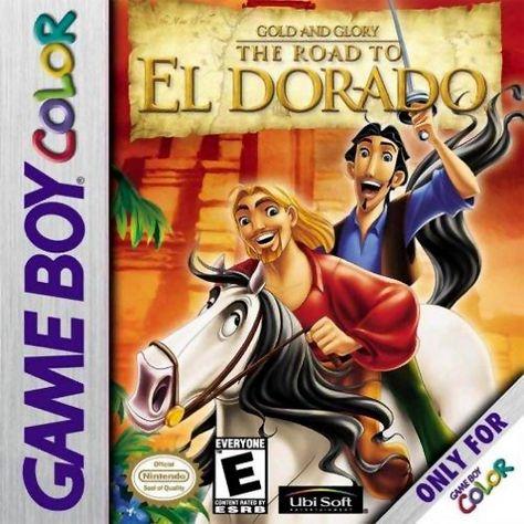 Gold And Glory The Road To El Dorado Game Boy Color El Dorado