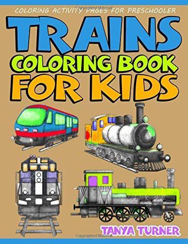 53 Train Coloring Book Pdf Free