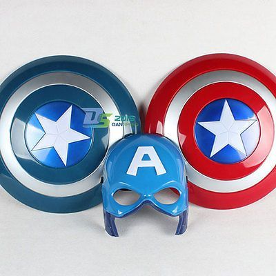Party Led light Captain America Avengers Mask for children
