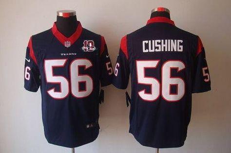 nike mens brian cushing houston texans game jersey 2012 nike nfl houston texans 56 brian cushing red