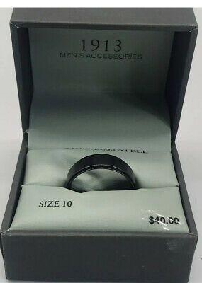 New 1913 Mens Accessories Stainless Steel Ring In 2020 Steel Ring Stainless Steel Rings Mens Jewelry