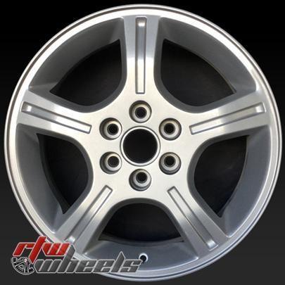Chevy Uplander Oem Wheels 2006 2009 17 Silver Rims 5012 Oem