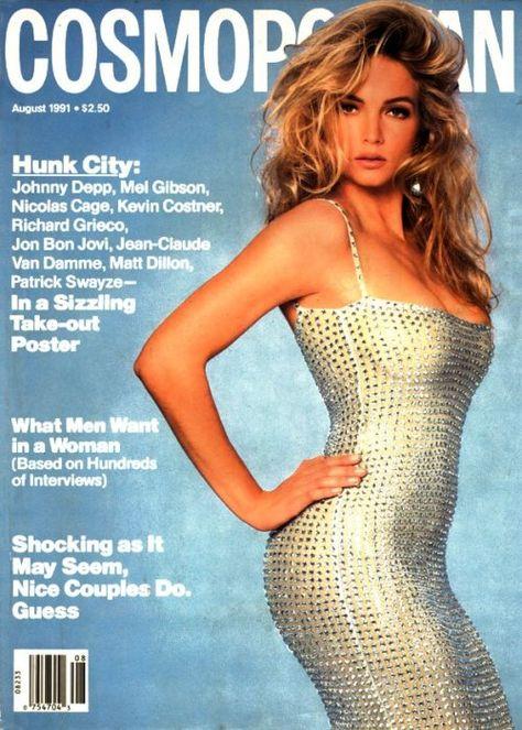 Cosmopolitan US, AUGUST 1991 Model: Rachel Williams Photographer: Francesco Scavullo