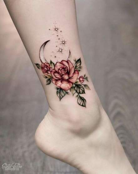 29 Ideas For Flowers Tattoo Color Shading Cool Small Tattoos Tattoos Foot Tattoos