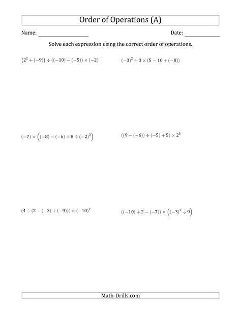 The Integers Number Lines from -25 to 25 math worksheet from the ...