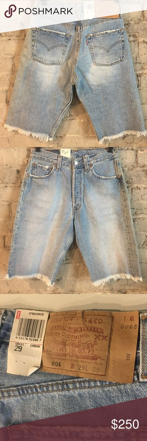 212e5d80 Vtg USA Made Levi's 501 Jean Shorts Deadstock W423 Vintage Levi's 501 Jean  Shorts Men's Size