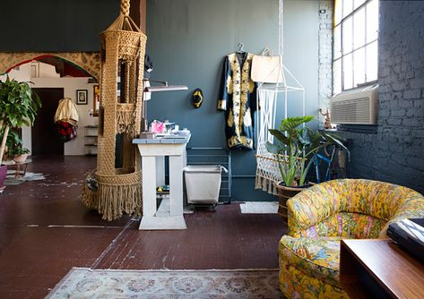 Awesome Office - The Eclectic Maximalist Home Of Nashville's Coolest Fashion Designer - Photos