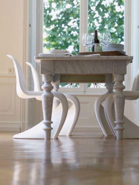 Tavolo Moderno E Sedie Antiche.Come Abbinare Tavolo Antico E Sedie Moderne Grazia It Tavoli