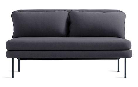 Blu Dot Bloke 60 Inch Armless Sofa Sofa Furniture Love Seat